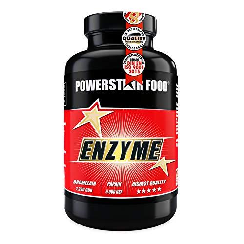ENZYM KOMPLEX BROMELAIN 1200 GDU & PAPAIN 6000 USP | hochdosiert mit 1.170 mg Enzyme pro Portion | geprüfte Pharmaqualität | Dose à 120 Kapseln | Premiumqualität deutscher Herstellung