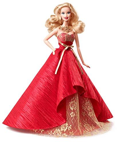 Barbie - Bdh13 - Poupée Mannequin - Joyeux Noel 2014