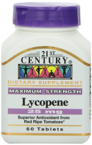 21st Century Lycopene 25 Mg Tablets, 60-Count (Pack of 3)