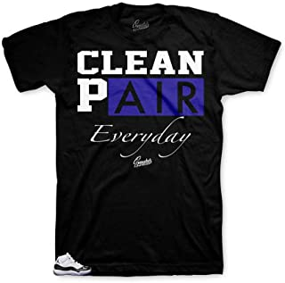 Tee Shirt Match Jordan 11 Concord - Everyday Sneaker Tee