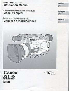 Canon GL2 instruction manual