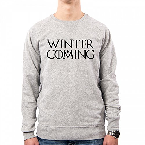 PacDesign Sudadera Hombre Stark Winter Is Coming Games of Thrones Serie TV Il Trono Di Spade TV Series Pd1451a