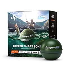 THE ONLY CASTABLE FISH FINDER CHIRP: The three beam frequencies, crisp clarity and extreme accuracy makes it ideal for quickly locating target species holding spots, pinpointing predator fish and fishing in extreme depths. HIGHEST SPECS: Casts out to...
