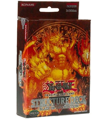 YuGiOh Blaze of Destruction 1st Edition Structure Deck - English [Toy]