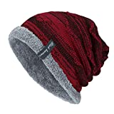 VRTUR Unisex Knit Cap Warm portlich Elegantes Outdoor Fashion Head Hat Strick Mütze...