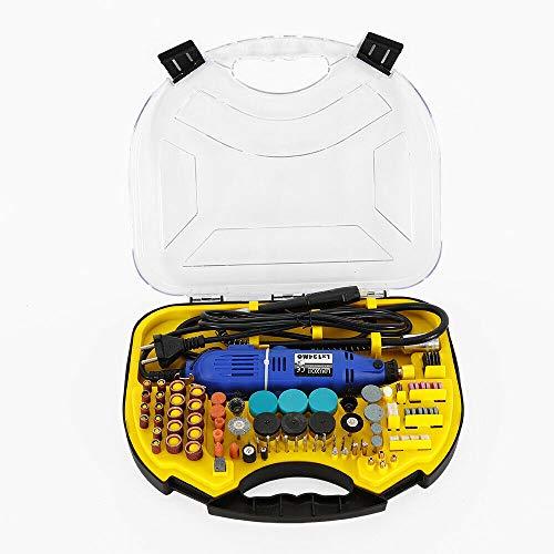 Herramienta multifunción de 211 piezas, máquina pulidora profesional Jade con caja, 180 W, 8000-32000R/min para cortar, tallar, grabar.