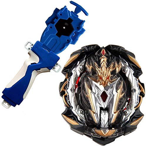 Bey Battle Evolution GT Blade Turbo God Bay B-153 Booster Remodeling Customize Gyro Starter Set Blue String Launcher Grip Batting Top Games Accessories Bey Burst Gaming Tops Spinning Toy Gift for Boy