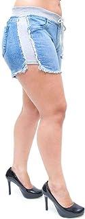 Shorts Jeans Feminino Cambos Euridineia Azul