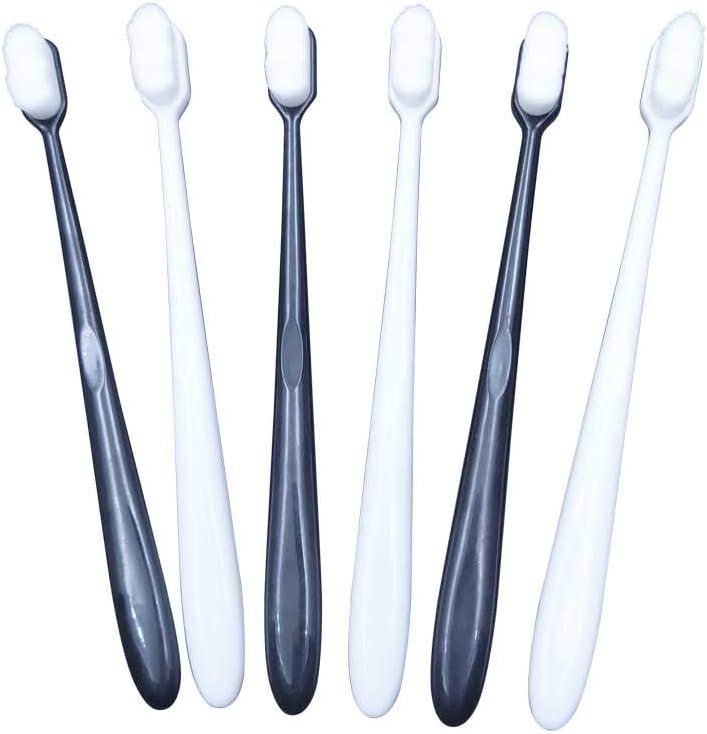 12000 Outlet SALE Micro-Nano Nippon regular agency Hairy Bristles Ergonomic Toothbrush Handle Dent