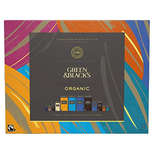 Green & Black's Organic Connoisseur Collection Boxed Chocolates Gift 540 g
