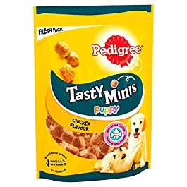 Pedigree Tasty Bites – Dog Treats Chewy Cubes with Chicken