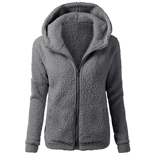 Why Should You Buy jin&Co Women's Long Sleeve Zipper Hoodies Tops Casual Fleece Sweatshirt Coat wi...