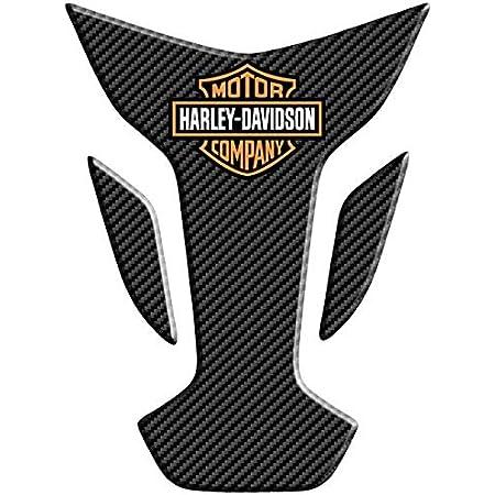 Orletanos Tankpad Tankchap Kompatibel Mit Harley Davidson Sportster Sporty 883 1200 48 Forty Eight Hd Tankpanel Peanuttank Tank Tankschutz Kleine Tasche Schwarz Dashboard Auto