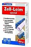 baufan zell - colla speciale per carta da parati in fibra grezza e pesante, 400 g