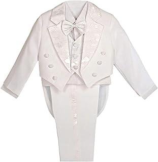 d4ab60c2081e6 Lito Angels garçon 5 pcs Ensemble de Formelle Tuxedo Suit avec Queue garçon  Convient baptême Tenue