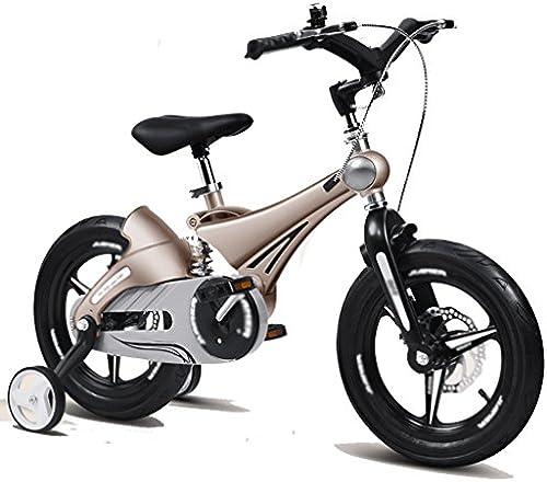&Klappwagen Kinder Fahrrad 3-6 Jahre alt Kinder Fahrrad 12 14 16 Zoll Stoßdämpfer (Farbe   1 , Größe   C)
