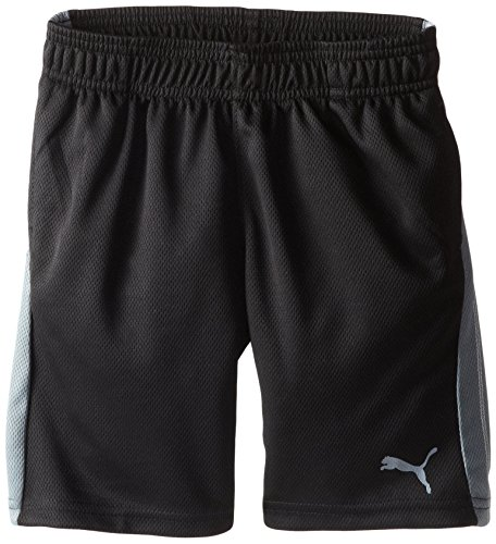 PUMA Little Boys' Form Stripe Short, PUMA Black, 6