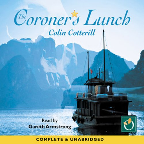 The Coroners Lunch audiobook cover art