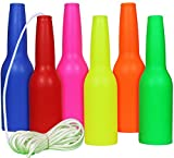 MarksmanSKLZ Resetting Targets for Shooting | Reusable, Hanging Bottles | Target Practice | Set Anywhere Impact Gun Shooting Bottle | Gun Gifts for Shooters and Gun Lovers (6 Pack Bottles) | Great