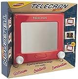 Joustra Ardoise Magique Telecran Original pour Dessiner à l'Infini-Enfants dès 5 ans-Format 19X19 cm-Coloris Rouge, J41404, Multicolore