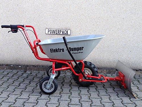 POWERPAC Schneeschild 740mm Edelstahl mit Gummileiste und Adapter passend für ED120 – AKKUSCHUBKARRE ELEKTROSCHUBKARRE AKKUSCHNEERÄUMER AKKUSCHNEESCHIEBER SCHUBKARRE DUMPER MOTORSCHUBKARRE - 9
