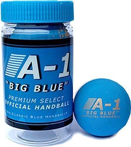 A-1 Big Blue Official Handball (2 Balls Per Can)