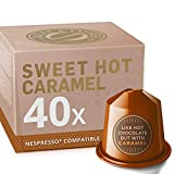 Sweet Caramel Toffee for Nespresso. Sweet and Creamy. 40 Nespresso Compatible Capsules