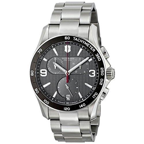 Victorinox Swiss Army–Reloj de Pulsera para Hombre cronógrafo Cuarzo Acero Inoxidable 241656