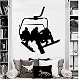 FSDS Wall Vinyl Decal Decals Snowboard Sport Winter Snow Sticker Decal Bedroom