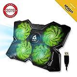 KLIM Wind - Refroidisseur Ordinateur Portable + Le Plus Puissant + Refroidissement...