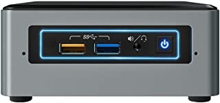 Intel NUC NUC6CAYSAJ 1.50GHz J3455 Negro, Gris Mini PC - Ordenador de sobremesa (1,50 GHz, Intel Celeron, J3455, 2 GB, 32 ...