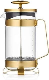 De Franse pers Franse pers koffiezetapparaat -RVS + Borosilicaat Franse Persen Koffiepot, Koffiezetapparaat, theepot Koffi...