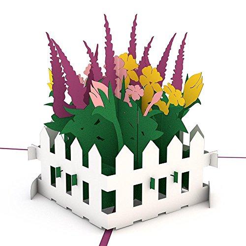 Lovepop Flower Garden 3D Pop-Up Greeting Card