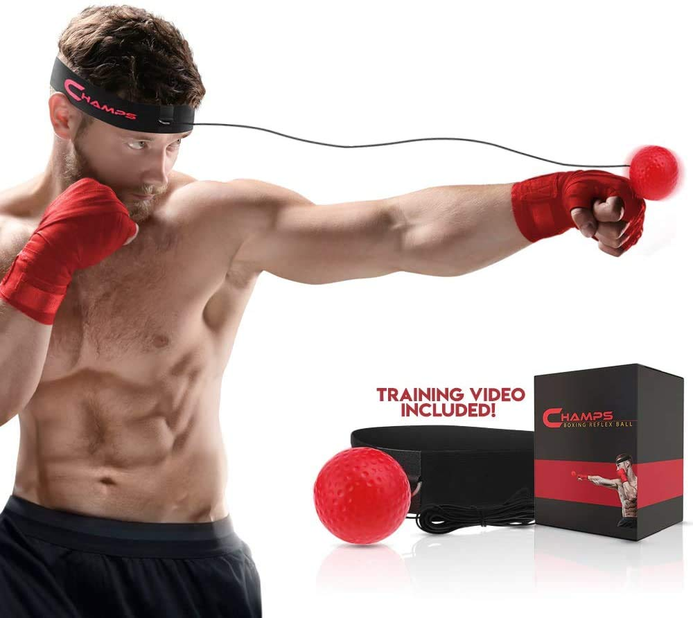 Boxing Reflex Ball Fight Ball Boxing Speed Training Fitness Exercise Ball