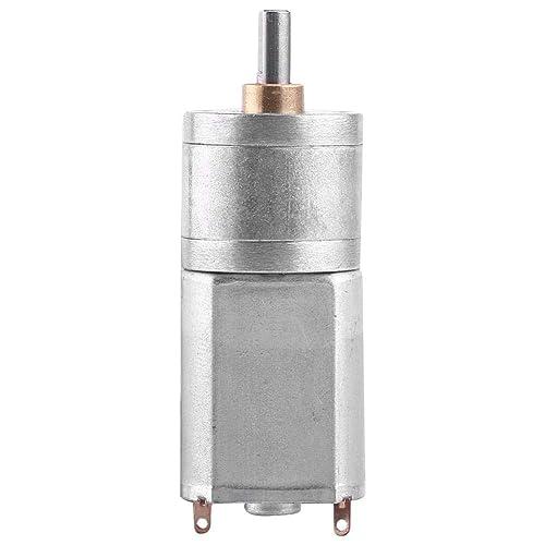 DC 12V Motor de Reducción de Velocidad Motor de Engranaje de Turbina Motor de Reducción de