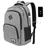 17.3 Inch Laptop Backpack,Backpack for High School Student,College Backpack with USB Charging Port for Men and Women