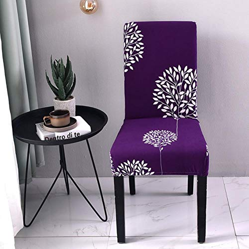 1/2/4Pcs Floral Print Chair Covers Spandex for Wedding Dining Chair Cover Room Stretch Elastic Office Banquet,4,1pcs
