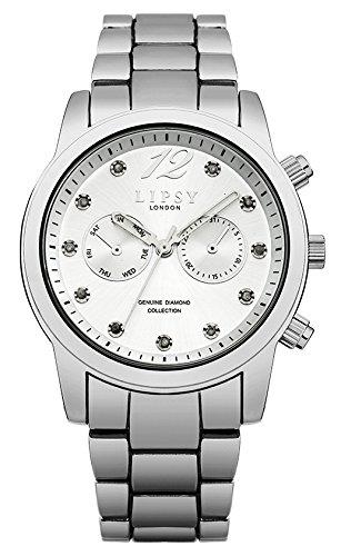 Lipsy Damen Analog Quarz Uhr mit Legierung Armband LP477