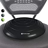 Gaiam Balance Disc Wobble Cushion Stability Core Trainer For Home Or Office Desk Chair and Kids...