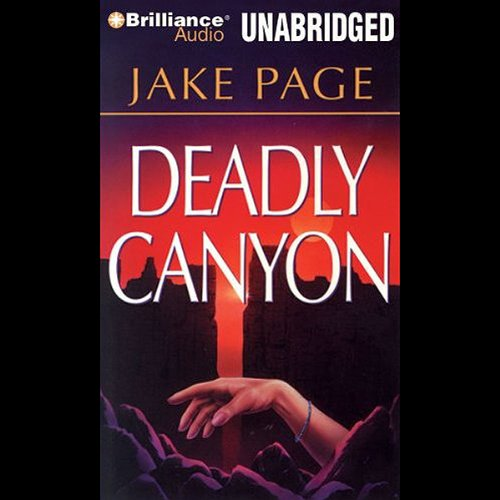 Deadly Canyon audiobook cover art