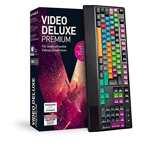 MAGIX Video deluxe – 2018 Control – Das Videobearbeitungsprogramm plus Tastatur