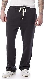 Alternative Black Mens Size Large L Drawstring Stretch Casual Pants