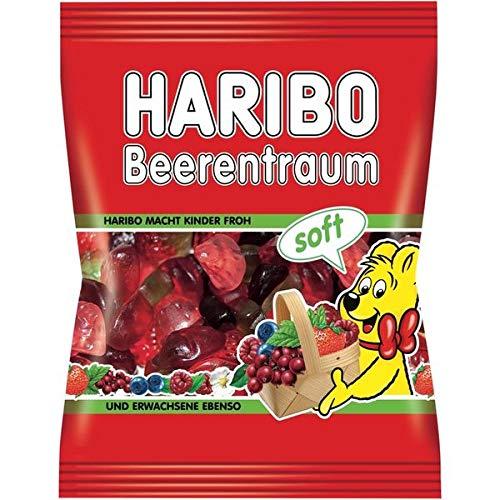 Haribo Beutel 100g, Beerentraum soft 30 x 100 g