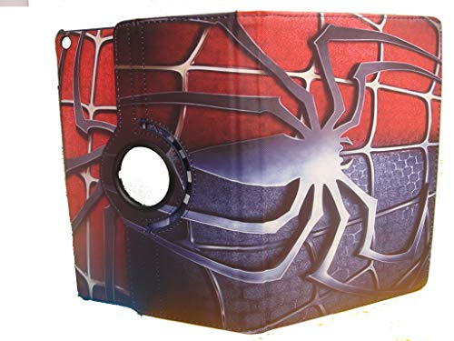 Funda inteligente para iPad de 10,2 pulgadas 2019, diseño de Spiderman superhéroe, color rojo