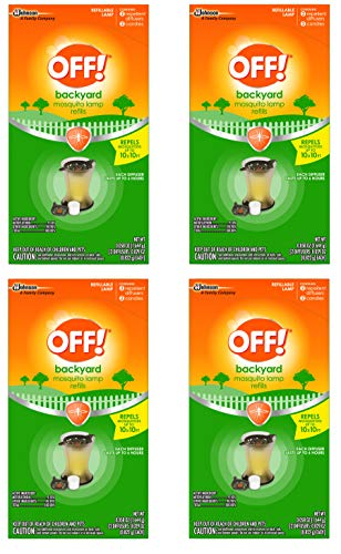 OFF! Mosquito Lamp Refill, 2 CT (Pack - 4)