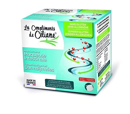 Les Recettes de Céliane - Les Recettes de Celiane Maintien de la muqueuse intestinale - 20 sachets de 3 g