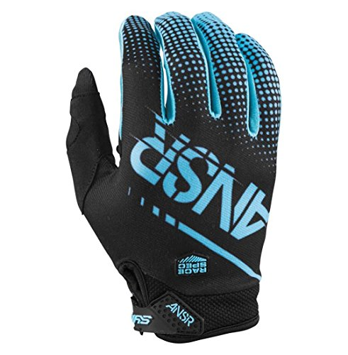 Answer Racing A17.5 Syncron Men's MotoX Motorcycle Gloves - Blue/Black / Large