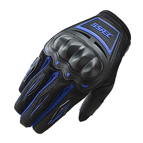 TRADITIONS Upbeat SSPEC Premium Touchscreen Riding Gloves Blue (X-Large)