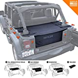 GPCA Cargo Cover PRO and Cargo Organizer Freedom Pack for TOP ON/Topless Jeep Wrangler JKU 4DR Freedom Pack, for...