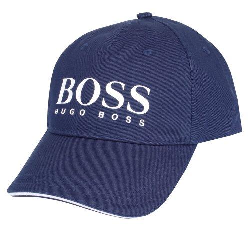 Hugo Boss Baseball Kappe/Golfkappe' Kappe 3'großes Logo Blau, schwarz, weiß Einheitsgröße - Marine, Einheitsgröße